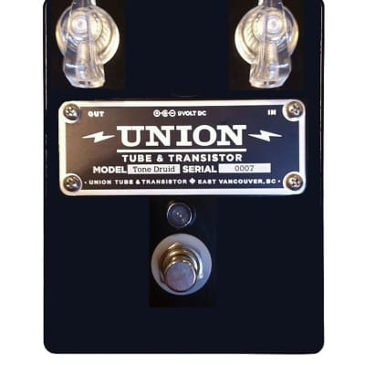 Union Tube & Transistor Tone Druid Overdrive 2010s Black