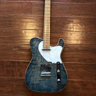 John Toon Original Hand Carved Toon-a-caster Local Build Guitar w/ hard case for sale