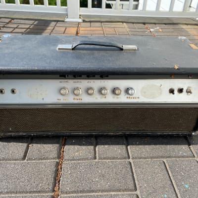 Ampeg V-4 100-Watt Guitar Amp Head with Reverb 1970s