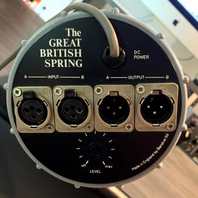 Bandive Great British Spring Reverb -Fully Serviced