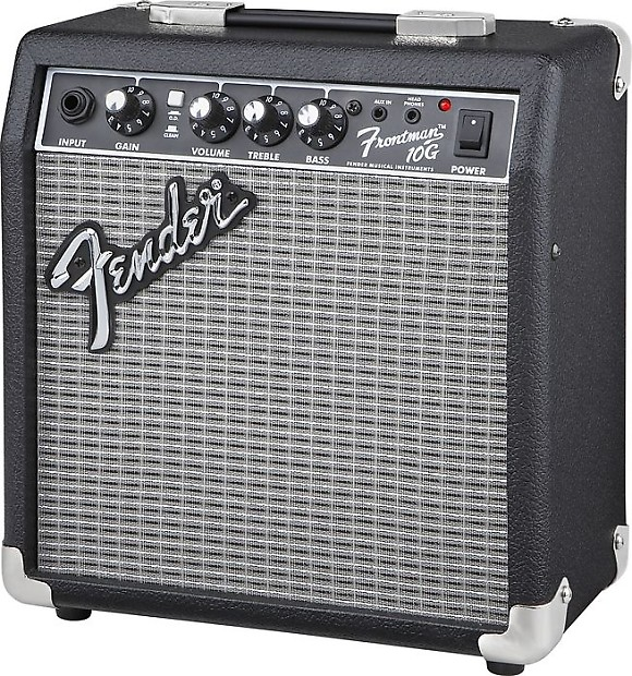 fender frontman 10g 10 watt 1x6 combo guitar amplifier black reverb. Black Bedroom Furniture Sets. Home Design Ideas