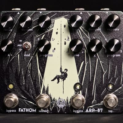 Walrus Audio ARP-87 Delay + Fathom Reverb Combo! for sale