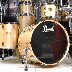 Pearl Session Studio Classic 4pc Drum Set Platinum Mist