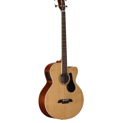 Alvarez AB60CE  Natural Wood Acoustic Bass for sale