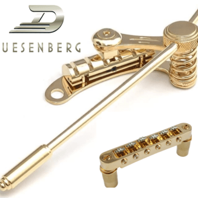 US Stock Real Duesenberg BoltOn Les Trem 2 Tremolo, Allp Roller Bridge 4 Import/Epiphone Les Paul SG