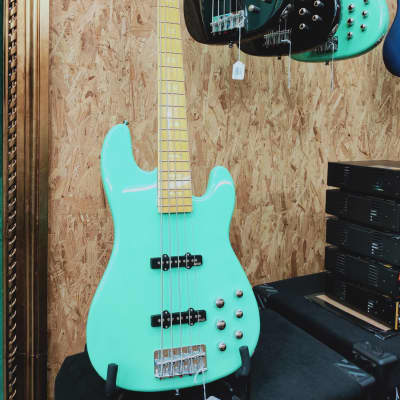 Markbass Mb Gv 5 Gloxy Surf Green Cr Mp for sale
