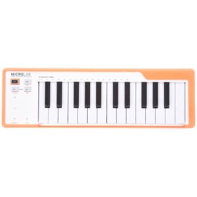 Arturia MicroLab Orange Portable 25-Key USB Controller