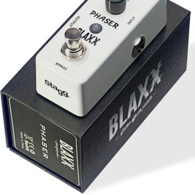 Blaxx Phaser Effects Pedal