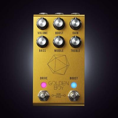 Jackson Audio Joey Landreth Golden Boy Transparent Overdrive Guitar Effect Pedal