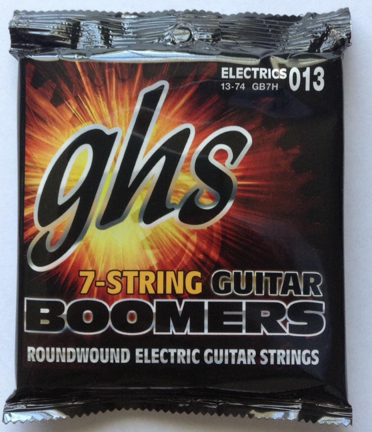 ghs gb7h boomers electric guitar strings 7 string set gauges reverb. Black Bedroom Furniture Sets. Home Design Ideas
