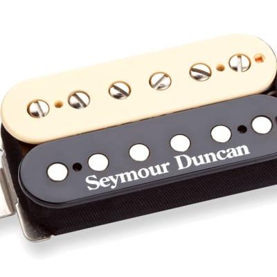 Seymour Duncan SH-PG1N Pearly Gates Humbucker Electric Guitar Neck Pickup, Zebra