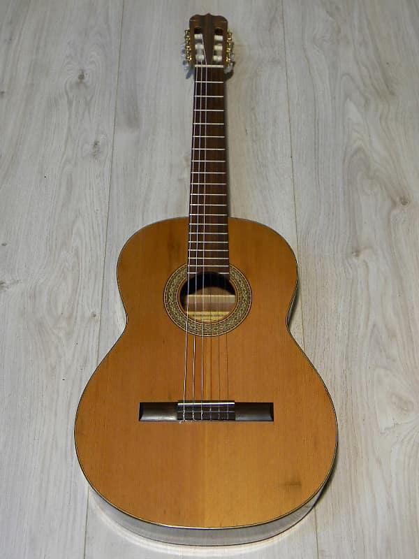 vintage Walther E. SANDNER Klassik Gitarre 4/4 Klassikgitarre classical guitar Germany 1970s image