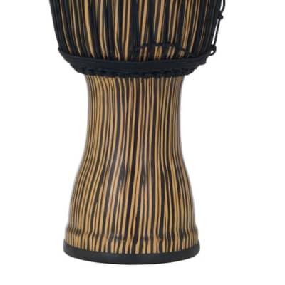 """PBJVR12698 Pearl 12"""" Rope Tuned Djembe in #698 Zebra Grass"""