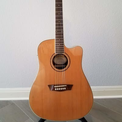 Washburn WD23SCE 2011 Gloss/Natural Acoustic/Electric Guitar