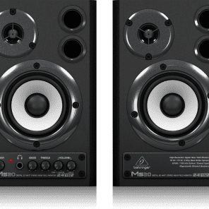 Behringer MS20 Powered Desktop Studio Monitors with S/PDIF (Pair)