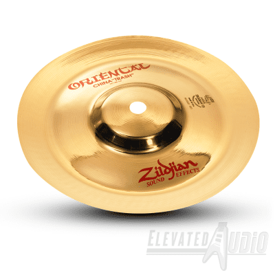 """Zildjian 10"""" Oriental China 'Trash' FX Cymbal! Make Offer or Buy Now from CA's #1 Dealer!"""