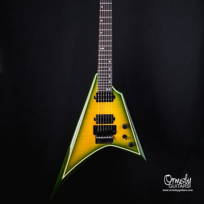 Ormsby B-Stock # 4783 Metal V 6 string - Flame top Exotic 2020 Grold