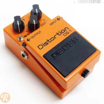 Boss DS-1 Distortion w/ Keeley Mod 2000s Orange image