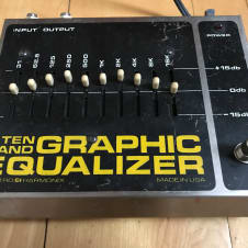 Electro-Harmonix 10 Band Graphic Equalizer 1970's