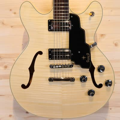 Guild Starfire IV ST Semi-Hollow Electric Guitar - Natural Flame Maple for sale