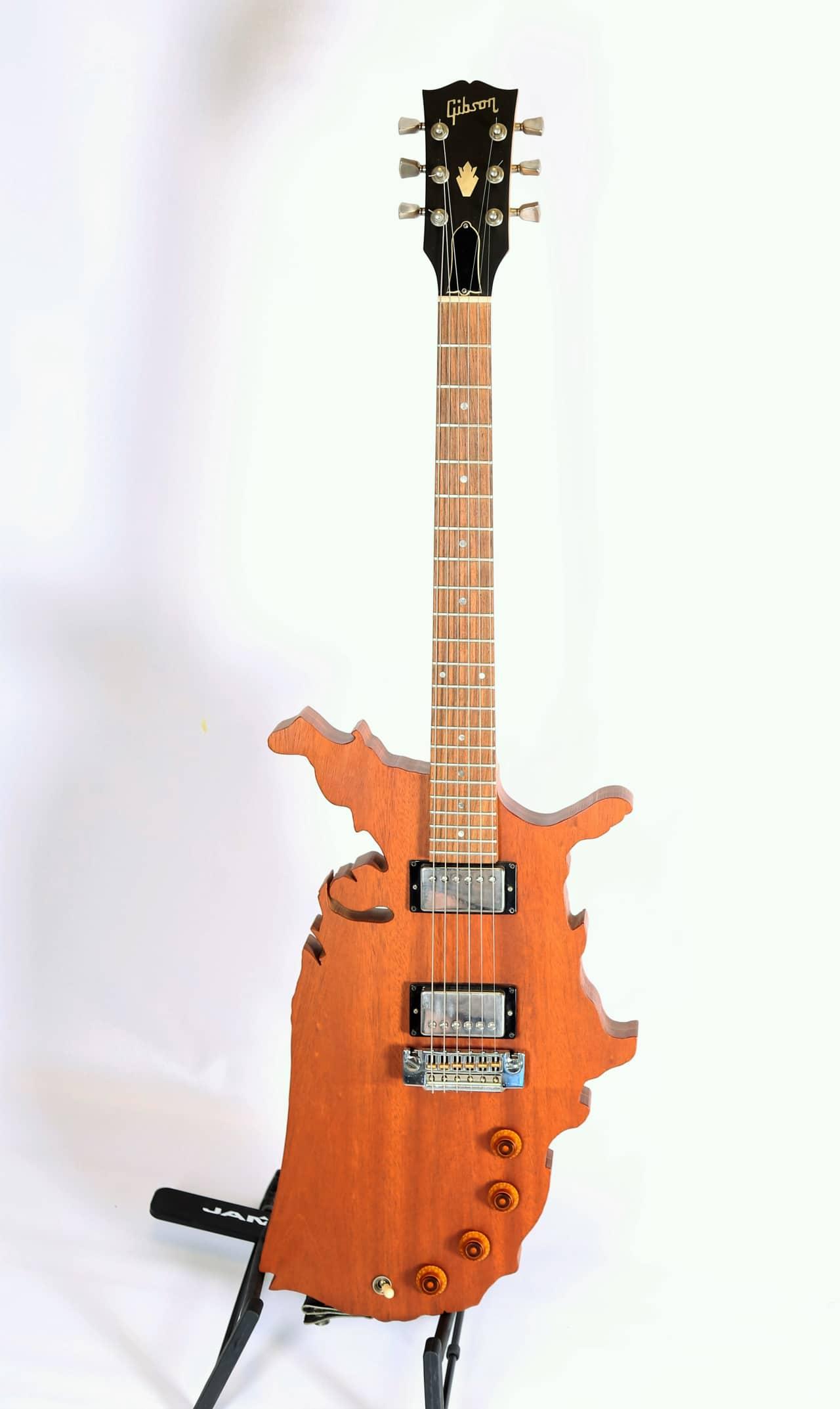 1983 gibson usa map electric guitar natural rare reverb. Black Bedroom Furniture Sets. Home Design Ideas