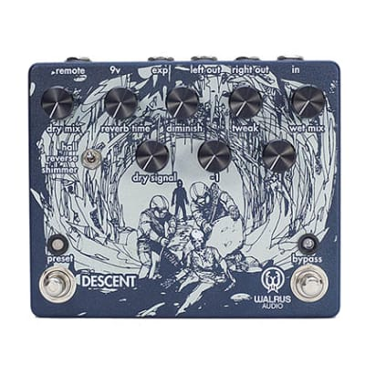 Walrus Audio Descent Reverb/Octave Machine Guitar Pedal for sale