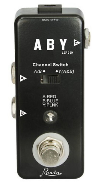 rowin lrf 330 micro a b y channel switch pedal free shipping reverb. Black Bedroom Furniture Sets. Home Design Ideas