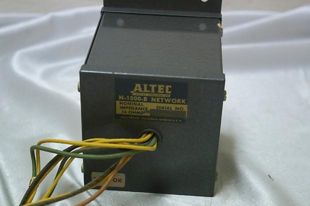 Altec N-1000-B Series Filter Network/Crossover for 604b Speaker 1950s Gray