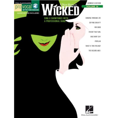 Wicked: Pro Vocal - Women's Edition, Volume 36