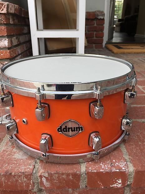 2141bf0ffe02 Ddrum Custom Maple Snare Orange