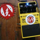 Alchemy Audio Modified Boss ODB-3 Bass Overdrive Distortion Guitar Effects Pedal image