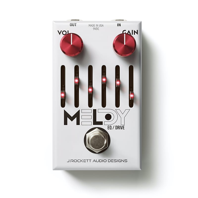 J. Rockett Melody Overdrive / EQ Effects Pedal