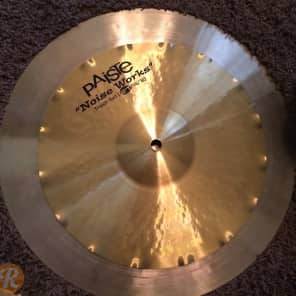 "Paiste 16""/20"" Noise Works Trash Set Cymbal Stack"