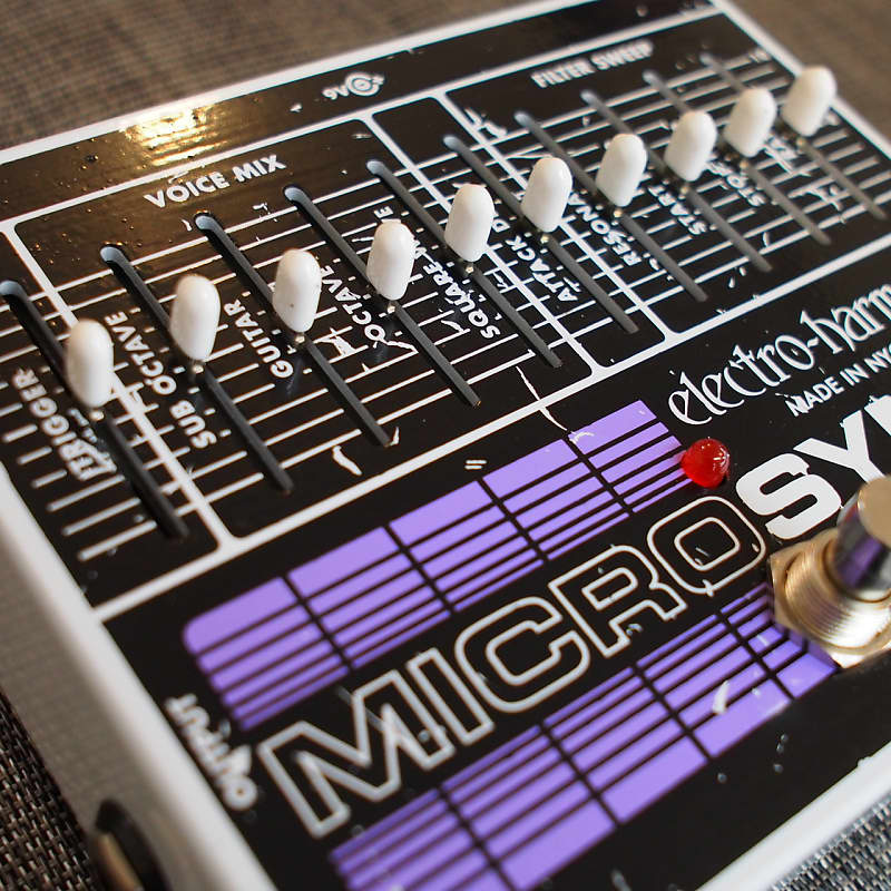 electro harmonix micro synthesizer guitar synth reverb. Black Bedroom Furniture Sets. Home Design Ideas