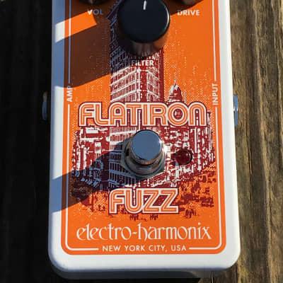 Pre-Owned Electro-Harmonix Flatiron Fuzz Distortion Pedal Used