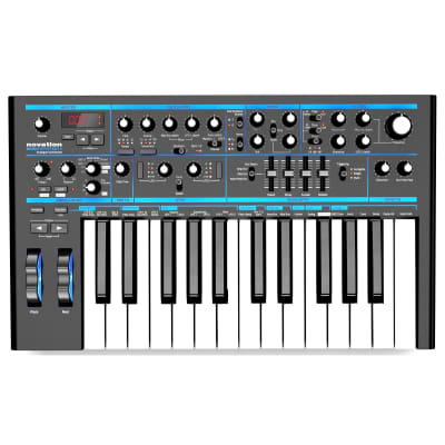 Novation Bass Station ll Analog Synthesizer Keyboard, 25-Key