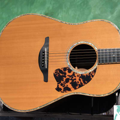 History Acoustic Guitar NT-07 - Natural - Made in Japan - High End Martin Copy Similar to D-42/D-45 w OHSC for sale