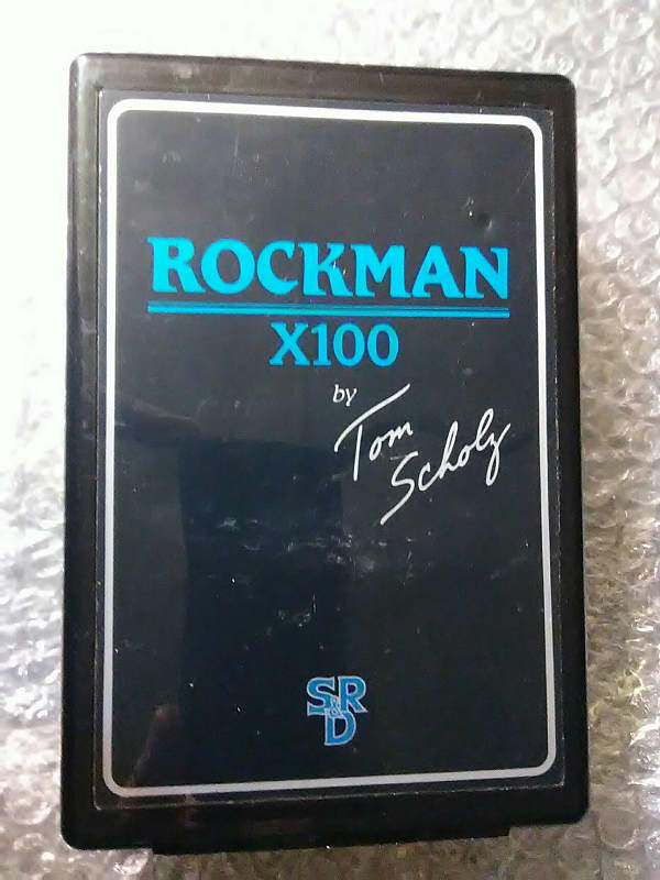 happy holidays sale rockman x100 r10 tom scholz band reverb. Black Bedroom Furniture Sets. Home Design Ideas