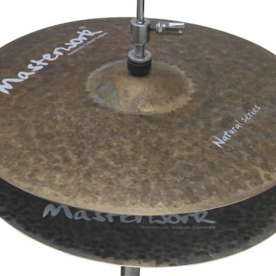 """Masterwork 15"""" Natural Hi-Hat Rock"""