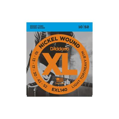 D´Addario EXL140 10-52 Electric Strings