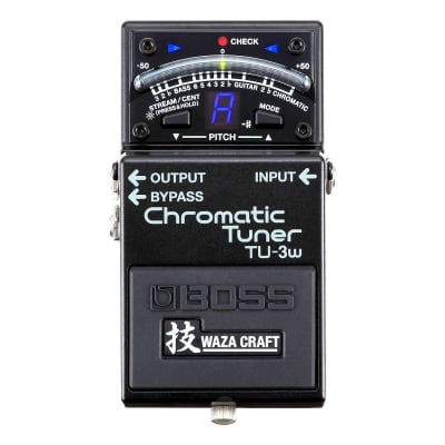 BOSS TU-3W Waza Craft Chromatic Pedalboard Tuner for sale