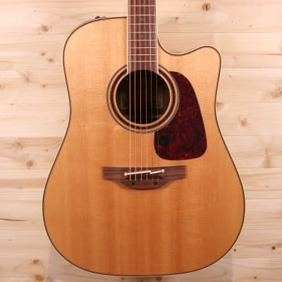 Takamine CP4DC-OV Solid Spruce / Ovangkol 2015 Dreadnaught Acoustic-Electric Guitar for sale