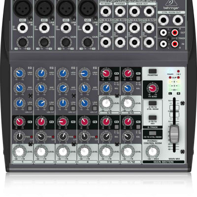 Behringer 1202 Premium 12-Input 2-Bus Mixer with XENYX Mic Preamps and British EQs
