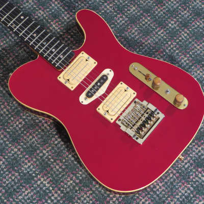 1984 Philip Kubicki Telecaster Custom Guitar Candy Apple Red! for sale