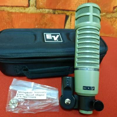 EV Electro Voice RE20 Dynamic Microphone Large Diaphragm Mic -Open-Box -Perfect -Free Ship -Dealer