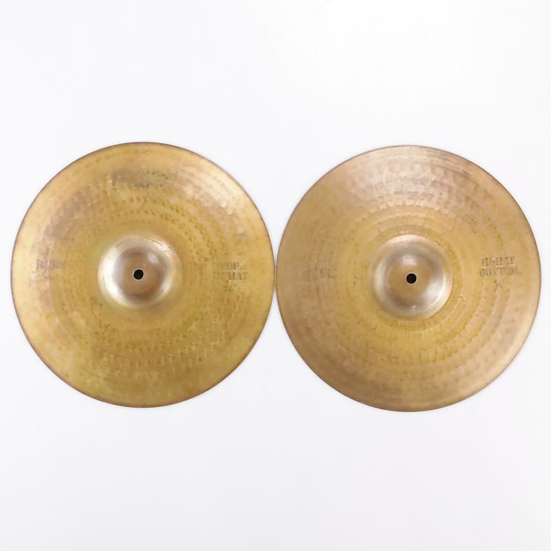 paiste 14 1000 rude hi hat top bottom cymbal reverb. Black Bedroom Furniture Sets. Home Design Ideas