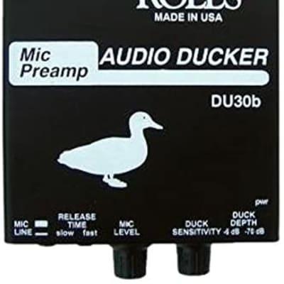 Rolls Mic Preamp/Audio Ducker