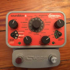 Source Audio Soundblox 2 Orbital modulator  2010's Orange