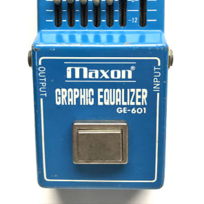 Maxon GE-601, Graphic Equalizer, Made In Japan, 1970/80's, Guitar Effect Pedal for sale
