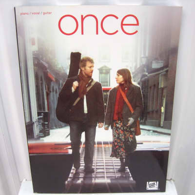 Once (movie) Soundtrack Sheet Music Song Book Songbook Piano Vocal Guitar